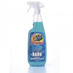 Limpiador Baño Desinfectante Las 3 Brujas Pistola 750 ml.
